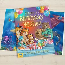 Personalised Birthday Wishes Story - Childrens Book Xmas Gift