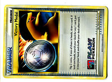 PROMO POKEMON LEAGUE 2010 HOLO VICTORY MEDAL SILVER PLAY POKEMON TYPHLOSION