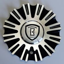 B18 Borghini Wheel Aluminum Center Cap (part # CSB18-2A)