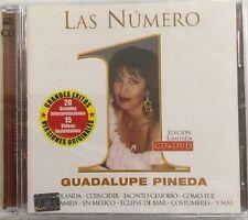 Guadalupe Pineda - Las Numero 1 CD + DVD New Nuevo Grandes Exitos Y Mas / Uno