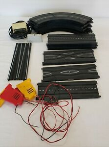 Vintage Lot 34 TYCO Electric HO Scale Slot Car Race Track Transformer Throttles