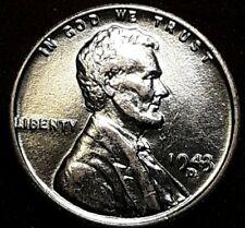 1943 P D & S Struck Through Debris, DDR, DDO. Lincoln Wheat Penny