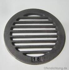 Original Leda  K17  Rundrost  185 mm Rüttelrost Rost Feuerrost