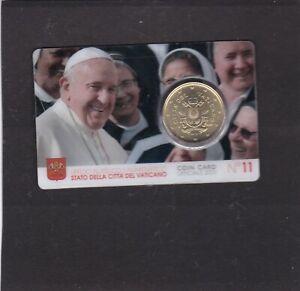 VATICAN COIN CARD n° 11 - 2020 - 50ct