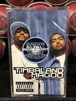 Timbaland Magoo Indecent Proposal SEALED Cassette Tape 2001 Blackground Rap Hip
