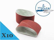 10X Nirey Medium Replacement Abrasive Belts - KE-3000 or KE-280 Models
