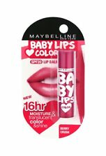 Maybelline Baby Lips SPF20 Lip Balm New Shade 16 Hrs Moisture, Berry Crush, 4gm