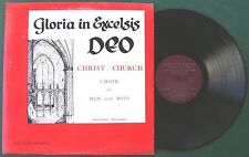 **RARE** Christ Church Of Lexington, KY - Gloria In Excelsis Deo (Private 1960s)