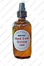 100% Fresh Pure Red Fox Urine 4 Oz Spray - Hunting Trapping Repellent