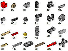 x206 Lego EV3 Parts Kit (technic,connector,joint,peg,pin,mindstorms,axle,beam)