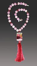 Venetian Arlecchino Wine Tassel Necklace New Sale - Bess Heitner