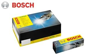 BOSCH OEM Spark Plugs 7406 FGR7KQE0 Set of 8