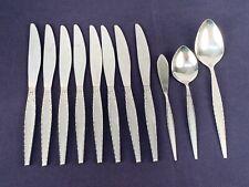 12 PCS Oneida Community VENETIA Stainless Flatware Knife Spoons Knives