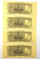 Bank of Calculus Two 2 Deux Dollars Off Any Meal Toronto Ontario 4 Coupons R059