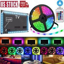 Computer TV Bar Room LED Strip Light Backlight RGB 5050 Remote Fairy Light Party