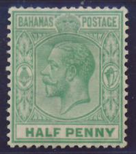 Bahamas - 1921 - Sc 70 - 0.5p Green  (1924) KGV WMK 4
