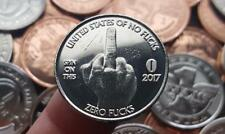 "Zero F*cks Given / Middle Finger ""Scratch & Dent"" Blemished Coin 10-Pack (NEW)"