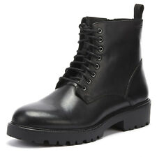 Vagabond Kenova Womens Lace Up Black Leather Boots Ladies Casual Winter Shoes