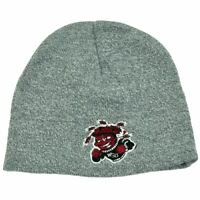 NCAA WSU Wichita State Shockers Heather Grey Cuffless Knit Toque Beanie Skully