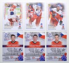 2019 BY cards IIHF World Championship Team Czech Republic Pick a Player Card