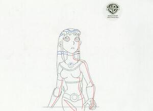 Teen Titans Animated Series Original Drawing--Starfire