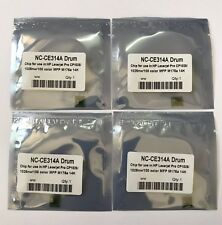 4 x Drum Reset Chip for HP Laserjet Pro CP1025 HP Laserjet Pro CP1025nw  CE314A