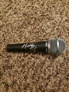 Meatloaf Signed Microphone Beckett Coa