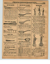 1927 PAPER AD 3 PG Egg Beaters Diamond Dover Betty Taplin Ladd Holt's Blue Whirl