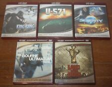 Lot Of 5 Hd Dvds for Hd Dvd Players Only - Ships Free!