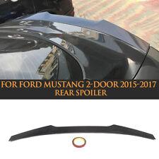 Carbon Fiber Rear Trunk Boot Lip Spoiler Wing For Ford Mustang 6th 2-Door 15-17