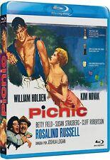PICNIC (1955) BD (Region B) William Holden, Kim Novak, Joshua Logan BRAND NEW