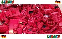 Lego® 1 KG Kilo Steine + Platten + Sonderteile BRICK Grundsteine rot Konvolut