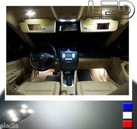 VW JETTA 3 -  9 Ampoules LED Blanc éclairage intérieur Plafonnier Coffre miroirs