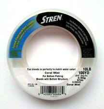 Stren Tinted Fluorocarbon Leader Color Coral Mist 10lb. 100 Yds.  Item K 26