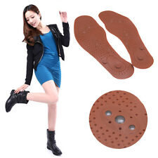 Foot Feet Care Magnetic Therapy Massage Insole Shoe Clean Health Boot Thenar Pad