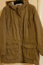 Marks and Spencer Indigo Women's Heavy Cotton Parka Coat  Size 20 - Brand New