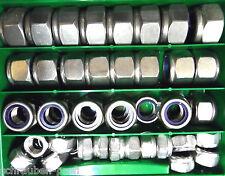 50 Teile Sortimentkasten Edelstahl Selbstsichernde Muttern M12 - M20 V2A38107192