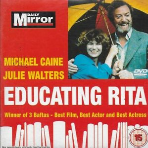 EDUCATING RITA: JULIE WALTERS & MICHAEL CAINE - NEW/UNPLAYED PROMO DVD [NnD]