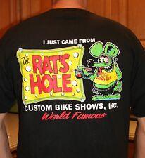 Rat's Hole Banner Black World Famous BDR Logo