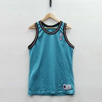 Vintage Vancouver Grizzlies Blank Champion Jersey Size 44 Large 90s NBA