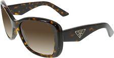 Prada Women's Gradient  PR32PS-2AU6S1-57 Brown Square Sunglasses