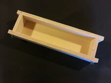 "4 LB Adjustable Wooden Soap Mold up to 15, 1"" bars Hot or Cold Process"