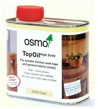 Osmo Top Oil For Wooden Work Tops & Interior Joinery 3058 Clear Matt 500ml