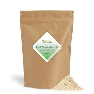 Ashwagandha Powder Organic Premium Root AKA Indian Ginseng Ashwagandha Powder