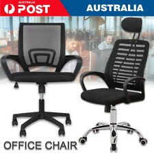 Black Office Chair Gaming Computer Chairs Mesh Back Executive Seating Study Seat