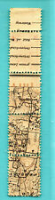 LATVIA LETTLAND MAP BLOCK OF 4 STAMPS 5 KOPEKS 1919 SC. 2 MNH ARMS PL II 371