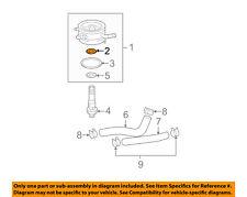 TOYOTA OEM 93-98 Supra 3.0L-L6 Engine-Oil Cooler Gasket 1578535010
