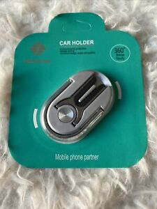 Hicucoo 3 in 1 Multi-purpose Cell-phone Ring Holder Kickstand and Car Mount