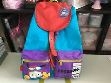 Vintage Pochacco neon backpack book bag Hello Kitty Sanrio