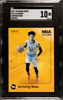 2019 NBA Hoops Arriving Now #12 Ja Morant SGC 10 Gem Mint RC Rookie ROY